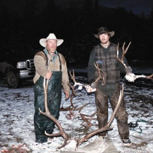 A successful hunt in Montana