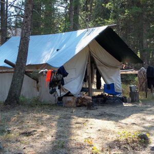 Hunt Camp mess hall